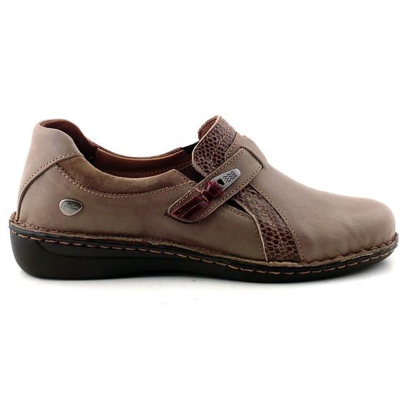 Cavatini Zapatilla Mujer Cuero Zapato - Mczp05184 Vp