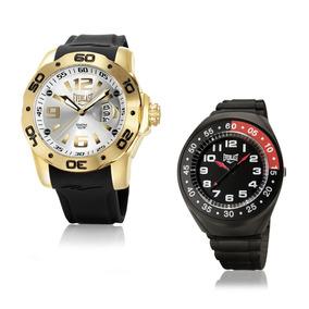 Relógio Everlast Masculino Analógico E525