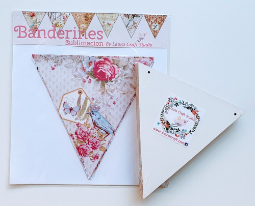 Banderines Para Sublimar Set Romantico Laura Craft