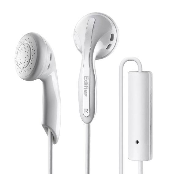 Fone De Ouvido Edifier P180 Premium Com Microfone - Branco
