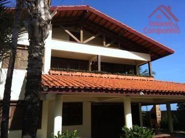 Casa Com 4 Dormitórios À Venda, 300 M² Por R$ 800.000,00 - Cumbuco - Caucaia/ce - Ca0306