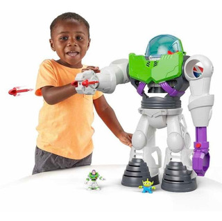 Robot De Buzz Lightyear Toy Story 4 Imaginext Fisher Price
