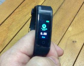 Relógio Smartband Monitor Cardíaco Pressão Arterial F4 F1 S9