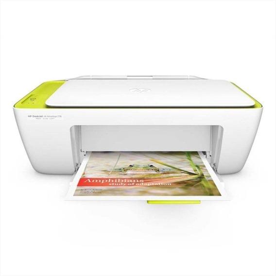 Impressora Multifuncional Hp Deskjet Ink Advantage 2136 Colo