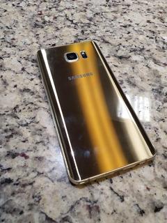 Galaxy Note 5 Oro, Telcel, 64 Gb Detalle En Pantalla