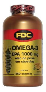 Ômega 3 - Epa - 1000mg - 360´s - Fdc Vitaminas