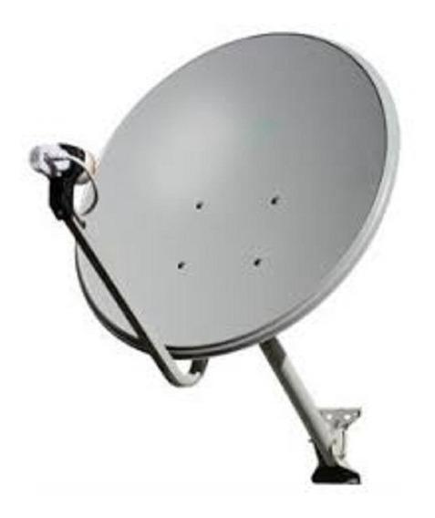 Antena 60cm Ku C/ Lnb Quadruplo Universal