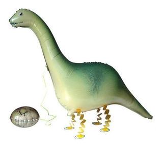 Globo Metalizado Dinosaurio 116 X 50 Cms
