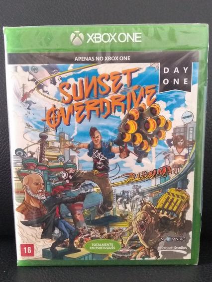 Sunset Overdrive Xbox One. Novo E Lacrado.