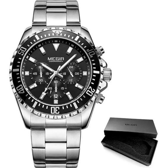 Relógio Masculino Megir Modelo Ms2064g