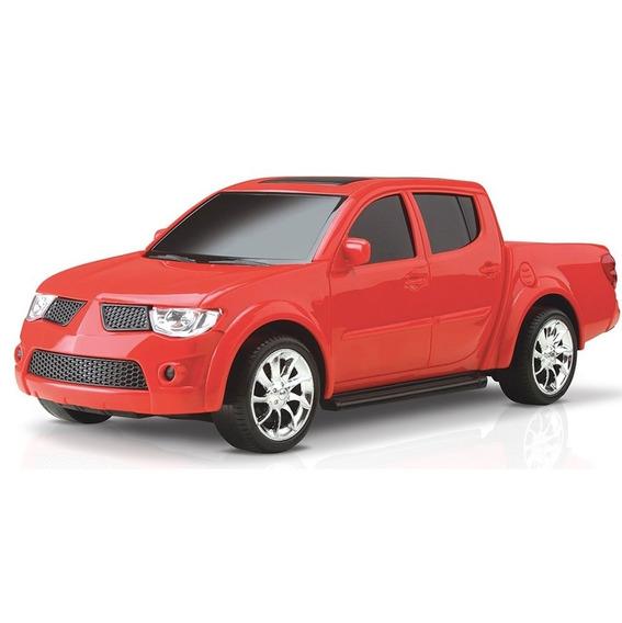Carrinho Brinquedo Pick-up Rx Sport Mitsubishi L200 - Roma