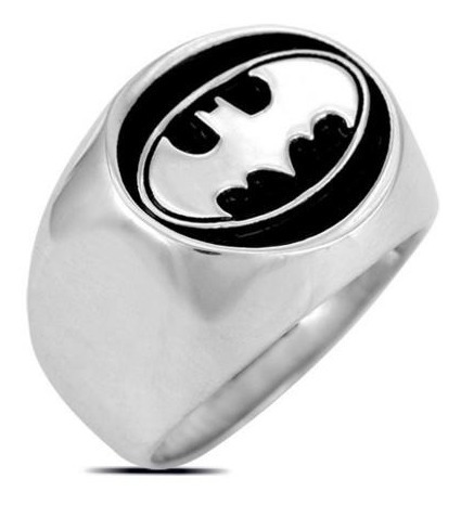 Anillo Batman Logo Dark Knight Dc Comics Igo!