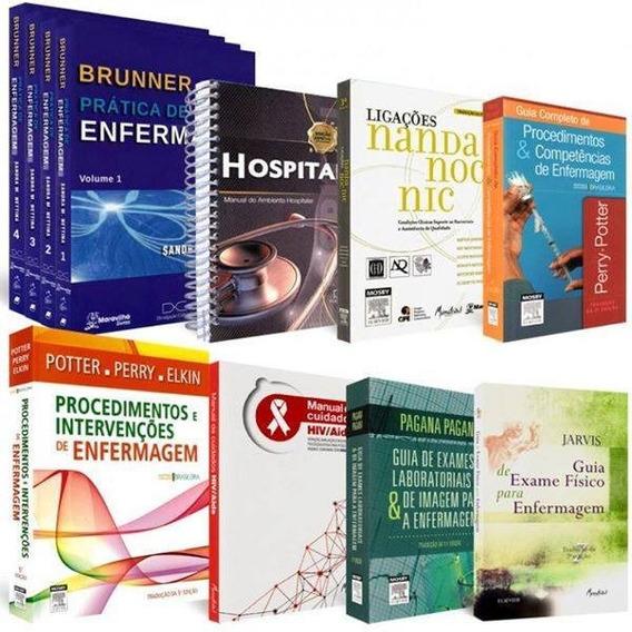 Kit Completo Livros Profissional De Enfermagem