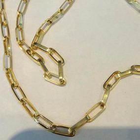 Corrente Cartier Alongada Oca Com 70cm Em Ouro 18k - 11,8grs