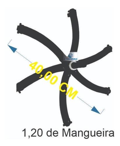 Imagem 1 de 5 de Difusor Tipo Estrela 1,20 Metros - Melhor Aeração Que Existe