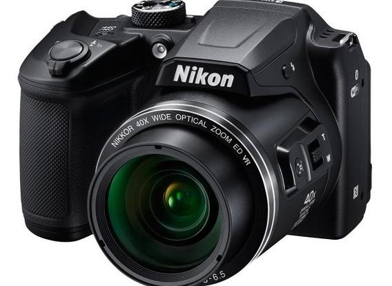 Camara Nikon B500 Coolpix 16mp 40xwifi- Bt + 32 Gb Msdhc