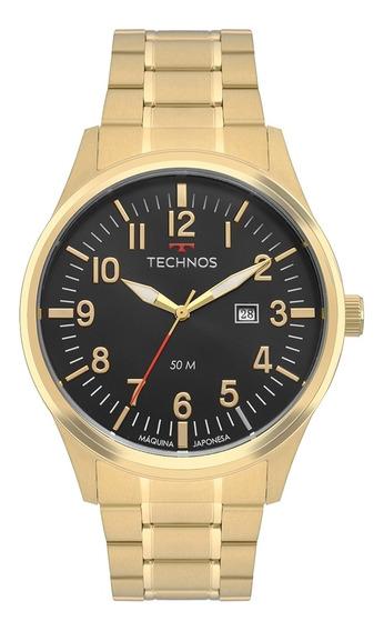 Relógio Masculino Technos Dourado 2115mtd/4p