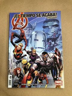 Avengers 16- ¡el Tiempo Se Acaba! Conclusión (160 P)