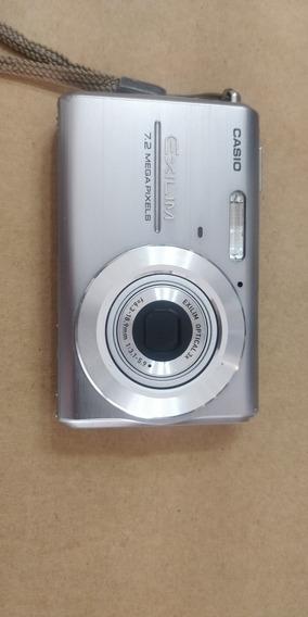 Casio Exilim 7.2 Mega Pixels Ex Z75 Cartão 2gb Caixa Manual