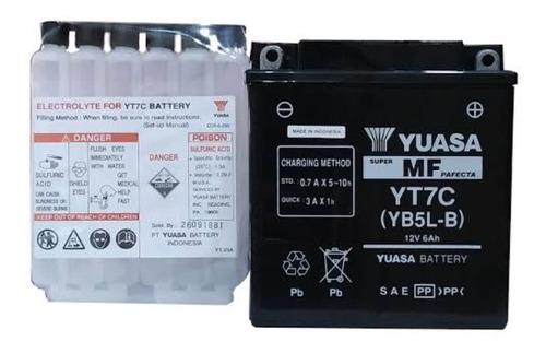 Batería De Moto Yuasa Yt7c(yb5l-b) ,san Borja,delivery.
