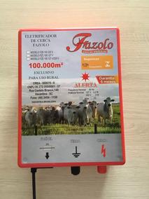 Eletrificador Rural P/ Cerca Eletrica 100km Bivolt Fazolo