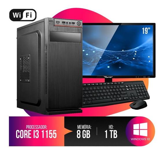 Pc Completo Intel Core I3,8gb Ram Ddr3,hd 1tb Promoção
