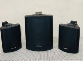 Caixa De Som Oneal Trio 100 + 50 + 50 Watts Rms