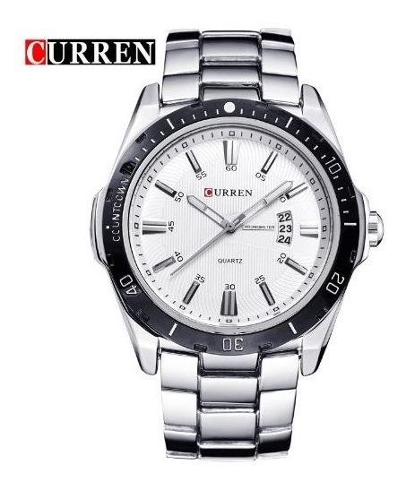 Relógio De Quartzo Masculino Analógico 8109 Curren