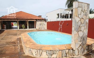 Rancho Com 3 Dormitórios À Venda Por R$ 450.000 - Loteamento Do Rubinho - Presidente Epitácio/são Paulo - Ra0001