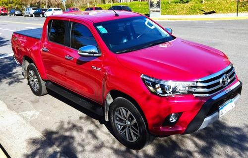 Toyota Hilux 2.8 Cd 4x4 Tdi Srx Automatica Cuero Año 2018