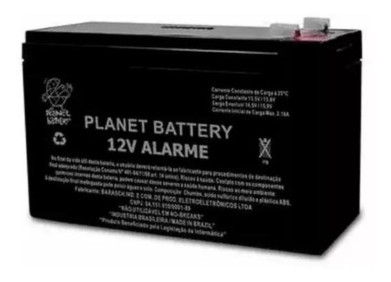 Bateria Selada Vrla Planet 12v Alarme E Cerca Elétrica