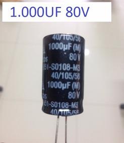 Capacitor 1.000uf 80v 105º Epcos 18x31,5mm