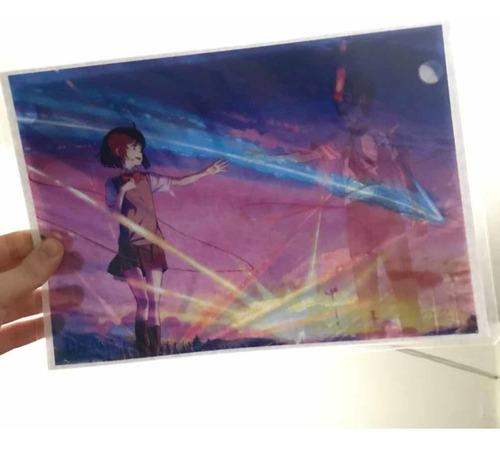 Poster Magico Mitsuha Kimi No Na Wa - Your Name - Animeras