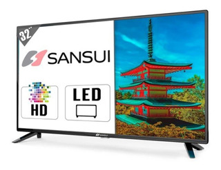 Pantalla Led Tv Sansui 32 PuLG Hd Made Japon Garantia 1 Año