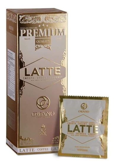 Cafe Negro Y Cafe Latte Orgánico Organo Gold