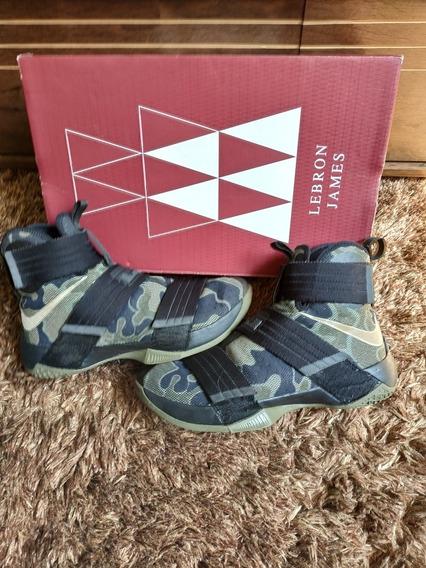 Tênis Nike Lebron James Soldier Raro Original Pronta Entrega