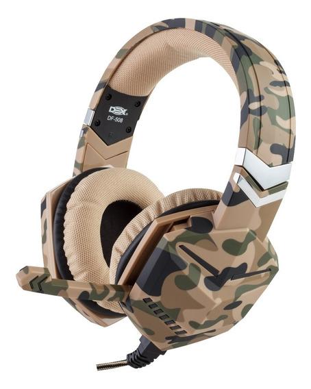 Headset Gemer P3 Camuflado C/microfone P/ps4/ X-one Celular