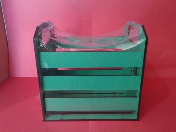 Caixote Porta Cd Ps4 Verde Laser Da504
