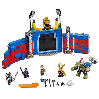 Lego Super Heroes Vs. Thor Hulk: Arena Choque 76088 Kit De C