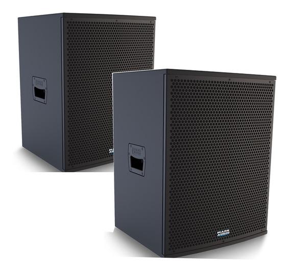Kit Caixa Ca1200 E Cp1200 Ativa Passiva Mark Audio Attack 15