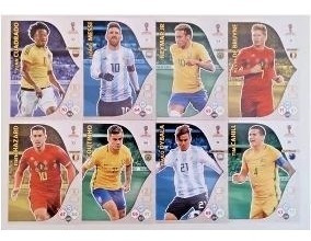 Lote 345 Cards Base + 25 Fans Adrenalyn Xl 2018 Panini