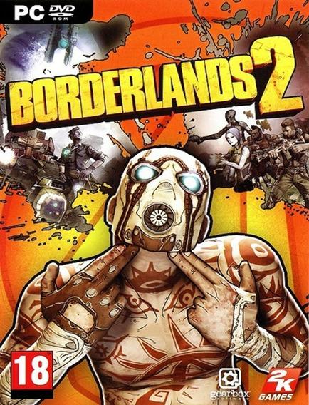 Borderlands 2 Pc - Steam Key (envio Flash)