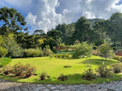 Imagem 1 de 20 de Casa Com 5 Dormitórios À Venda Por R$ 9.720.000,00 - Vila Capivari - Campos Do Jordão/sp - Ca6175