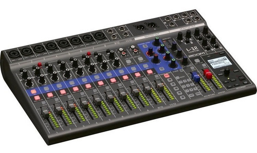 Zoom Livetrak L-12 Canales Mixer Grabador Multitrack Cuotas!
