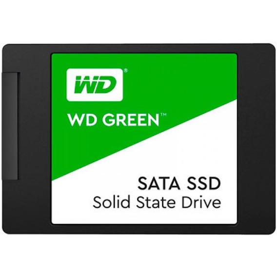 Ssd - 2,5pol / Sata3 - 120gb - Western Digital Green - Wds12