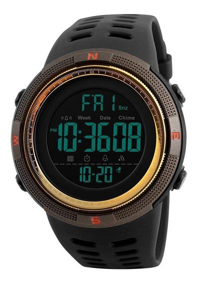 Reloj Skmei 1251 Hombre Deportivo Digital Sumergible 50 M
