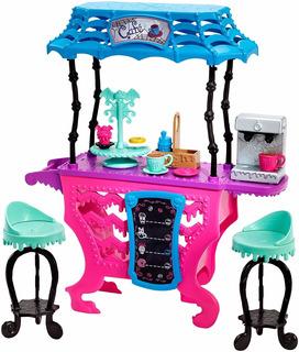 Monster High Coffee Cafetería Juguete Muñecas Playset Niñas