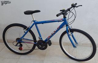 Bicicleta Todo Terreno Con 18 Cambios Rodado 24 Ram