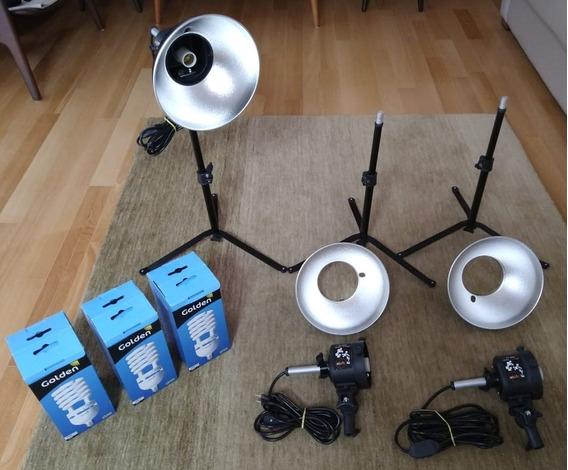 Kit De Iluminação Para Fotografia