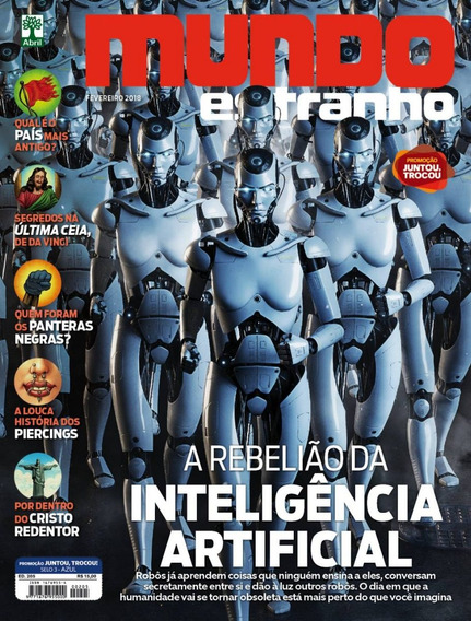 Revista Mundo Estranho 205 Fev 2018 Inteligência Artificial